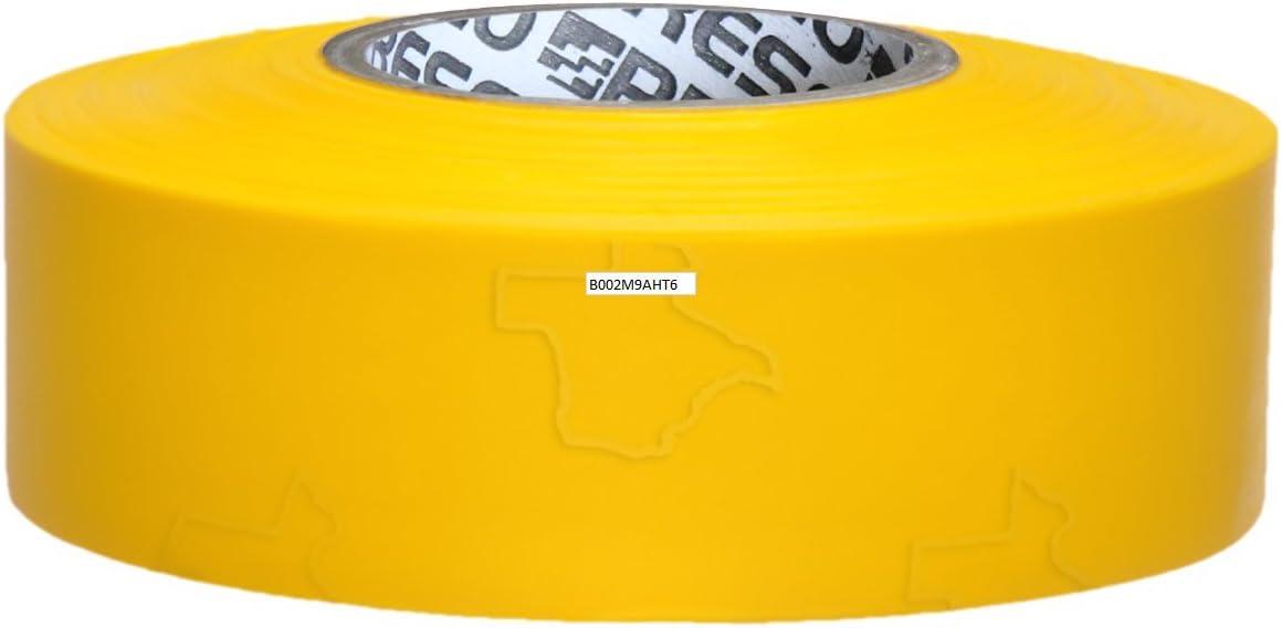 Presco Texas Ruban de balisage en rouleau x 300 ft. blanc 1-3//16 in