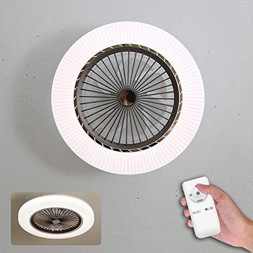 Ventilator Mit Fernbedienung - Leise Deckenventilator,Für Kinderzimmer Schlafzimmer,Einstellbare Windgeschwindigkeit,LED Fan [Energieklasse A++]
