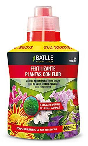 Semillas Batlle 710822UNID Fertilizzante per Piante da Fiore, 400 ml