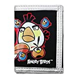 Angry Birds tri-fold wallet 05610 Black