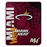 NBA Miami Heat 'Hard Knocks' Fleece Throw Blanket, 50' x 60'