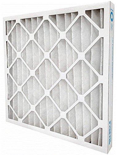 GLobal One AIR HANDLER 20x24x2 Pleated Air Filter, MERV 7 (Case of 12)