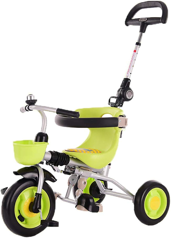 diseño simple y generoso Triciclo Triciclo Triciclo Plegable para Niños, Bicicleta para Niños, neumáticos sólidos Trike para Niños, Adecuado para Niños y niñas de 2 a 6 años  mejor marca