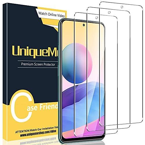 [3 Pack] UniqueMe Compatible con Xiaomi Redmi Note 10 5G / Poco...