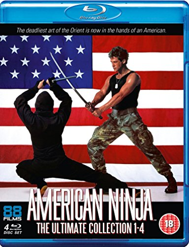 American Ninja 1-4 [Blu-ray Boxset] [UK Import]