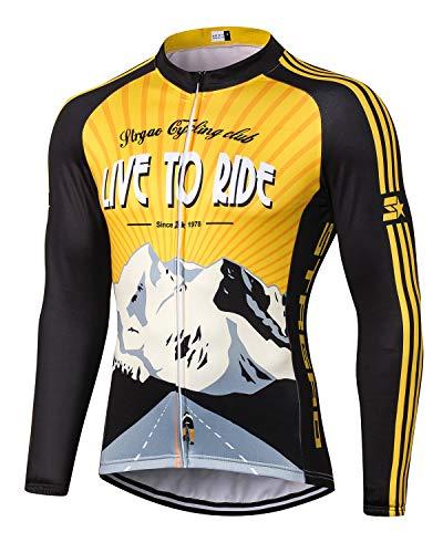 MR Strgao Men's Cycling Winter T...