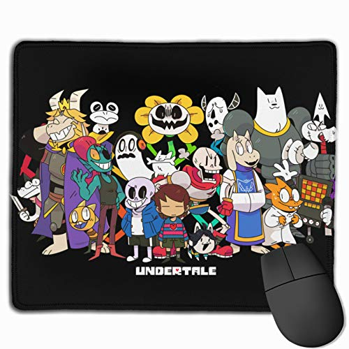 Undertale Sans Personalized Rectangle Mouse Pad Pattern Non-Slip Rubber Comfortable Customized Computer Mouse Pad 25 X 30