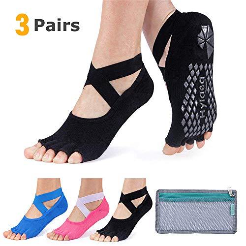 Hylaea Yoga Socks for Women with Grip