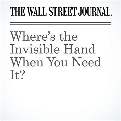 Where's the Invisible Hand When You Need It? copertina