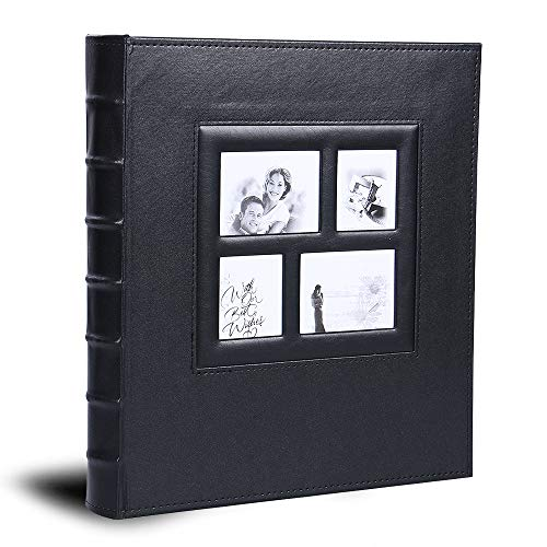 Vienrose Photo Album for 620 4x6 5x7 Photos Leather Cover Extra Large Capacity for Family Wedding Anniversary Baby Vacation…