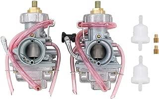 Pack of 2 Carburetor Left & Right Side Carb w/Fuel Filter for Yamaha Banshee 350 YFZ350 ATV 1987-2006