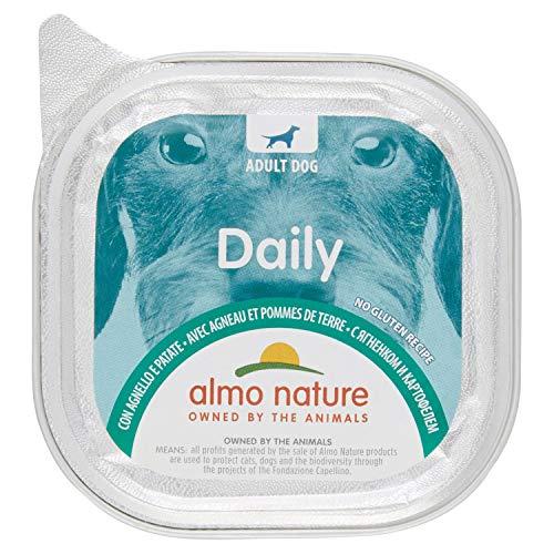 almo nature Daily Menu Cibo per Cane con Agnello e Patate, 100g