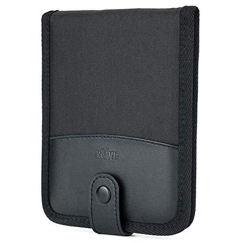 Kiwifotos Speicherkarten-Tasche mit Steckplätzen, Schutz für 18 x SD/TF/NS(Nintendo Switch) Karten, SD-Karten, Tragetasche, Micro-SD-Karten, Aufbewahrungstasche für Speicherkarten – Schwarz
