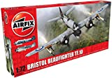 Airfix- Kit de modelismo, avión Bristol Beaufighter MK.X Late (Hornby A05043)