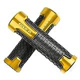 2Pcs 7/8''22mm Motorcycle Handlebar Grips Handle Grips for SUZUKI GSXR GSX-R 125 150 600 750 1000-Gold