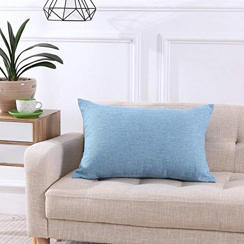 Almohada,Diseño ergonómico para un Mejor Soporte para Dormir en la Cabeza, el Cuello y los Hombros Almohada -Cielo Azul_40x70cm