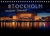 Stockholm - Nordische Schoenheit (Tischkalender 2022 DIN A5 quer): Die Stadt der Inseln (Monatskalender, 14 Seiten )