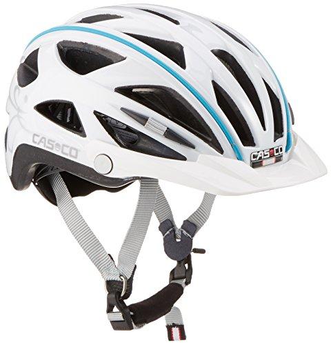 Casco Erwachsene Helm Active-Tc Femme, Weiß, L(52-58 cm)