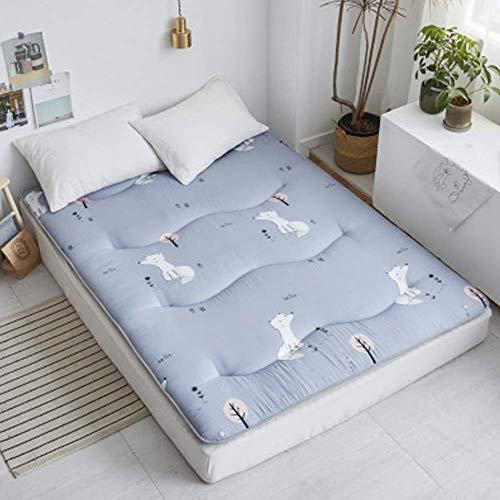 Folding Futon Matratze,Gesteppter Weich Hypoallergen FutonMatratze Schlafen Mat,...
