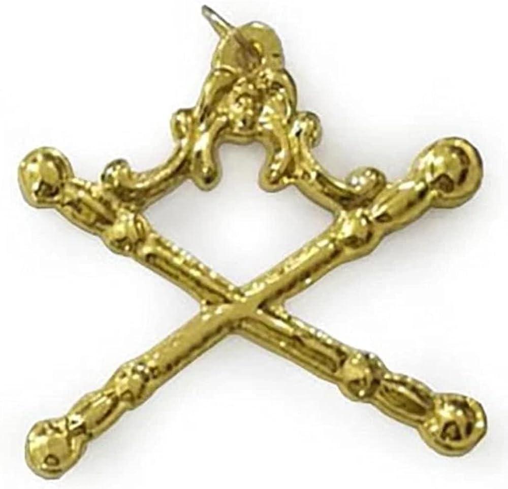 Masonic Gold Regalia Collar Jewel - Marshal