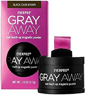 Gray Away Root Touch-UP Magnetic Powder; Hair Color: Black, Dark Brown by Everpro