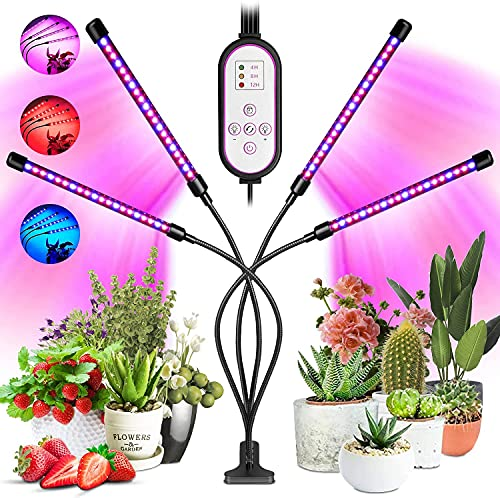 Grow Lights for Indoor Plants, Garpsen 4...