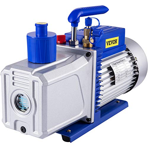 Bestauto Vacuum Pump 12CFM 1HP Vane Vacuum Pump...