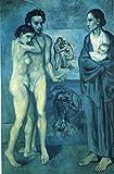 Kunstdruck Auf Leinwand,Spanische Kunst Picasso Malerei,