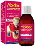 Abidec Advanced Multivitamin Syrup Plus Omega 6 And 9, 150 Ml