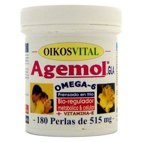 Oikos Agemol Oikos Omega-6, 480 Perlen, 1 Stück
