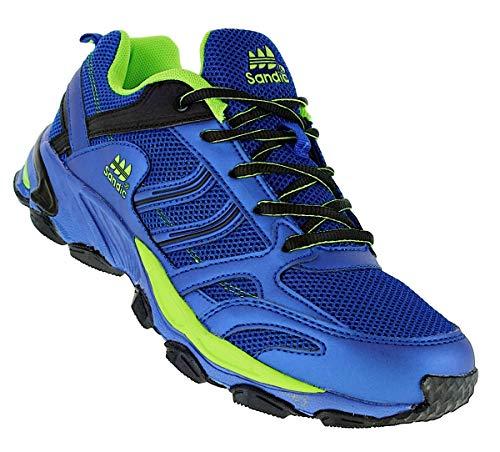 Bootsland 463 Neon Turnschuhe Sneaker Sportschuhe Herren, Schuhgröße:43