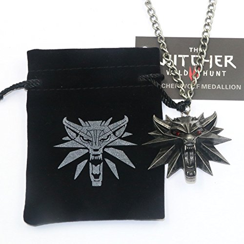 The Witcher 3: Wild Hunt Wolf Head Necklace MEDALLION from Collectors Edition by Namco Bandai/Warner Brothers