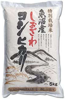 CONCENT 南魚沼産 しおざわ コシヒカリ 「特別栽培無農薬米」 5kg
