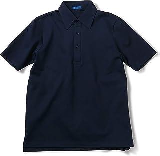 [リングヂャケット/RING JACKET] レギュラーカラー台襟付き ポロシャツ メンズ 日本製