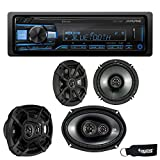 Best Alpine Bluetooth Audio Receivers - Alpine UTE-73BT Bluetooth Receiver (No CD), a Pair Review