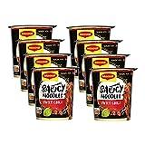 Maggi Magic Asia Saucy Noodles Sweet Chili Cup, 8er Pack (8 x 75g) (Lebensmittel & Getränke)