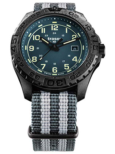 traser H3 Herren-Armbanduhr P96 OdP Evolution Petrol 109041