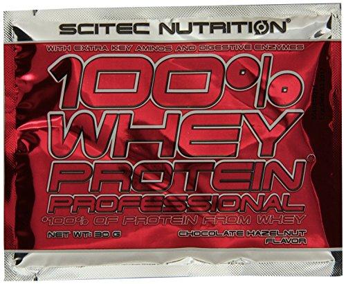 Scitec Nutrition Protein 100% Whey Protein Professional, Geschmack Mix, 30x30g