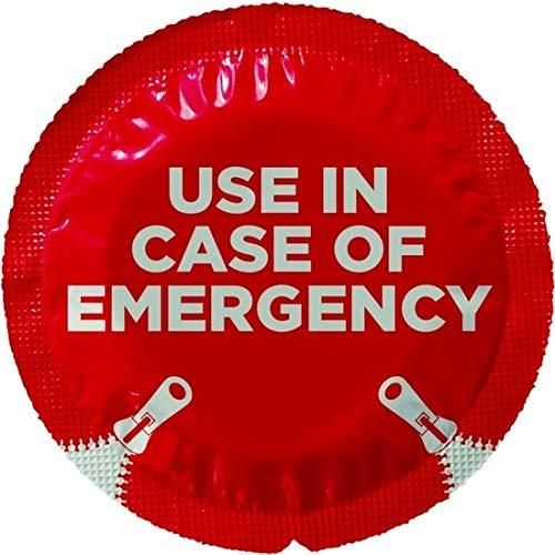 EXS Condoms dünnes aber starkes seidiges Latex Kondome mit im Notfall Verpackung 100 Stk, 1300 g,100EXSCIROPEN,Naturlatex-uni-farbe