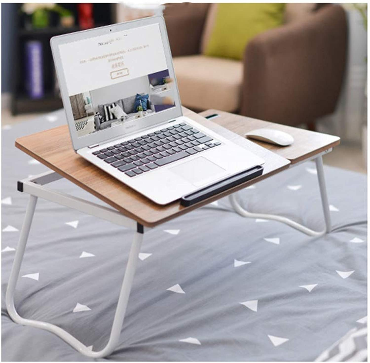 Folding Table Notebook Bed Computer Table Lazy Table Free Inssizetion Folding Lazy Small Table Simple