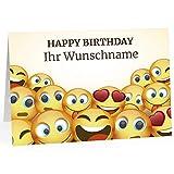 XXL Geburtstagskarte (A4) | PERSONALISIERT | witziges Motiv | mit Umschlag | Glückwunsch zum Geburtstag | Klappkarte mit Ihrem Wunsch-Text | personalisierte Grußkarte | Maxikarte extra groß