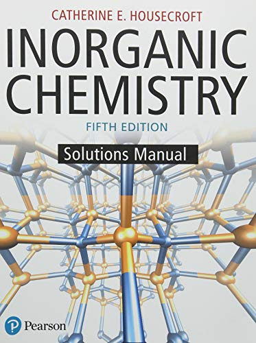 Inorganic Chemistry Solutions Manual (5th Edition)