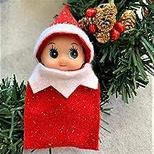 Red Baby Elf Doll Toddler Elf Christmas Elf in Training
