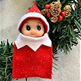 Red Baby Elf Doll Toddler Elf Christmas Elf in Training