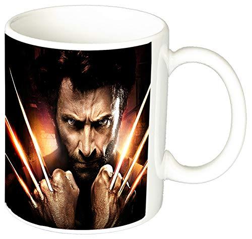 MasTazas X-Men Origins Wolverine Hugh Jackman Lobezno A Taza Ceramica