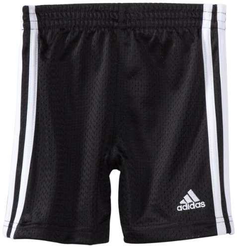 adidas Little Boys' Active Mesh Short, Black, 5