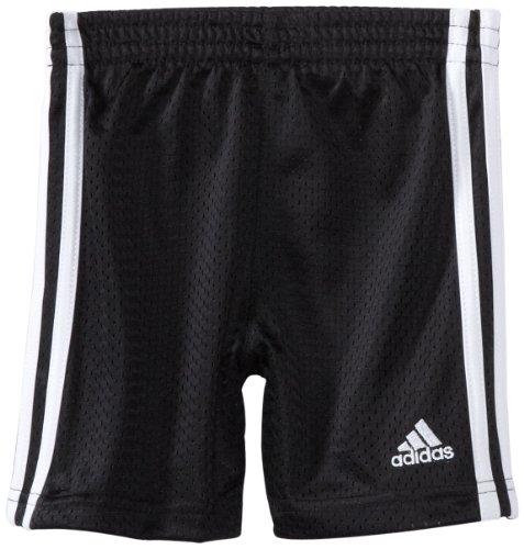 adidas Little Boy's Active Mesh Short, Black, 6