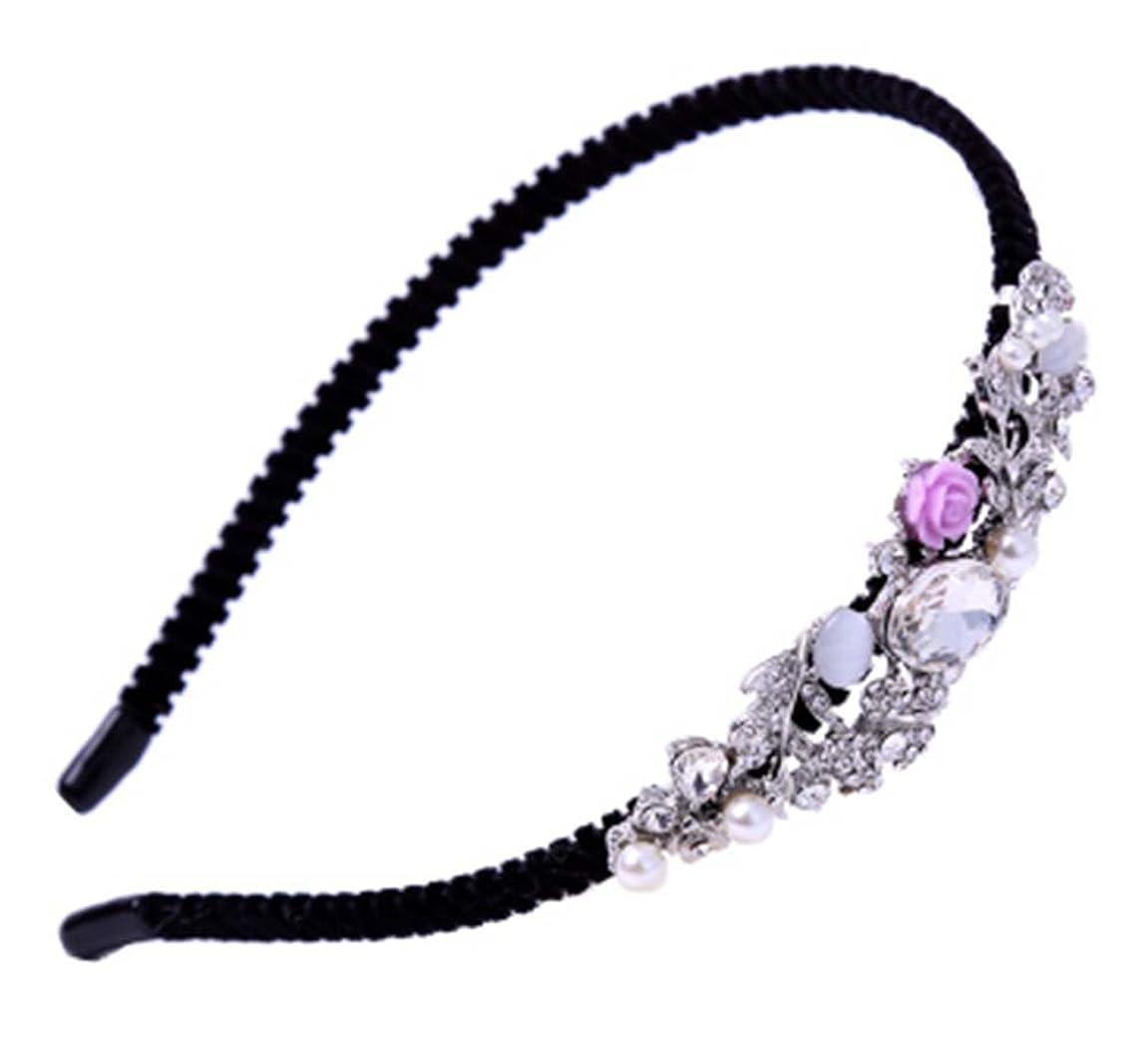 時期尚早セマフォシャーク合金の毛のフープの花のヘッドバンドのフープファッションシンプルなヘアピンの飾り