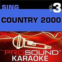 Sing Country 2000 Vol. 3 [KARAOKE]