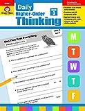 Evan-Moor Daily Higher-Order Thinking Grade 3 Teacher s Edition Supplemental Teaching Resource Book, Brainteasers